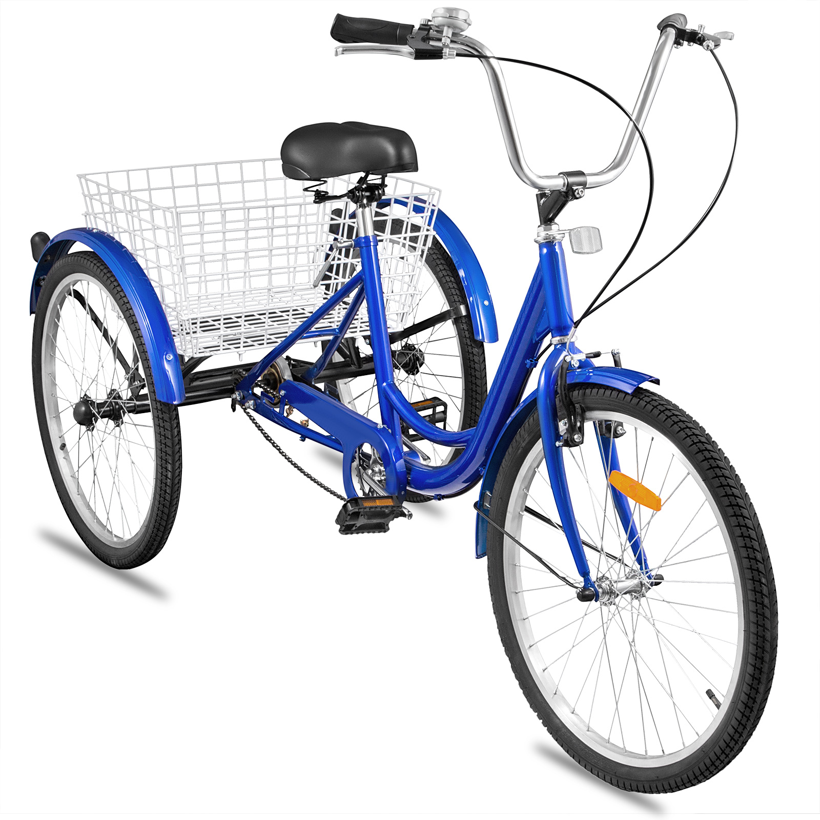 20-24-26-034-Adult-Tricycle-1-7-Speed-3-Wheel-Large-Basket-For-Shopping-Optional thumbnail 345