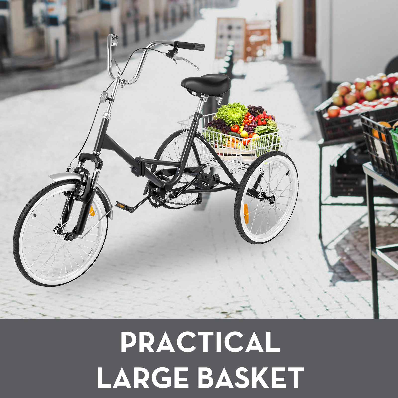 20-24-26-034-Adult-Tricycle-1-7-Speed-3-Wheel-Large-Basket-For-Shopping-Optional thumbnail 67