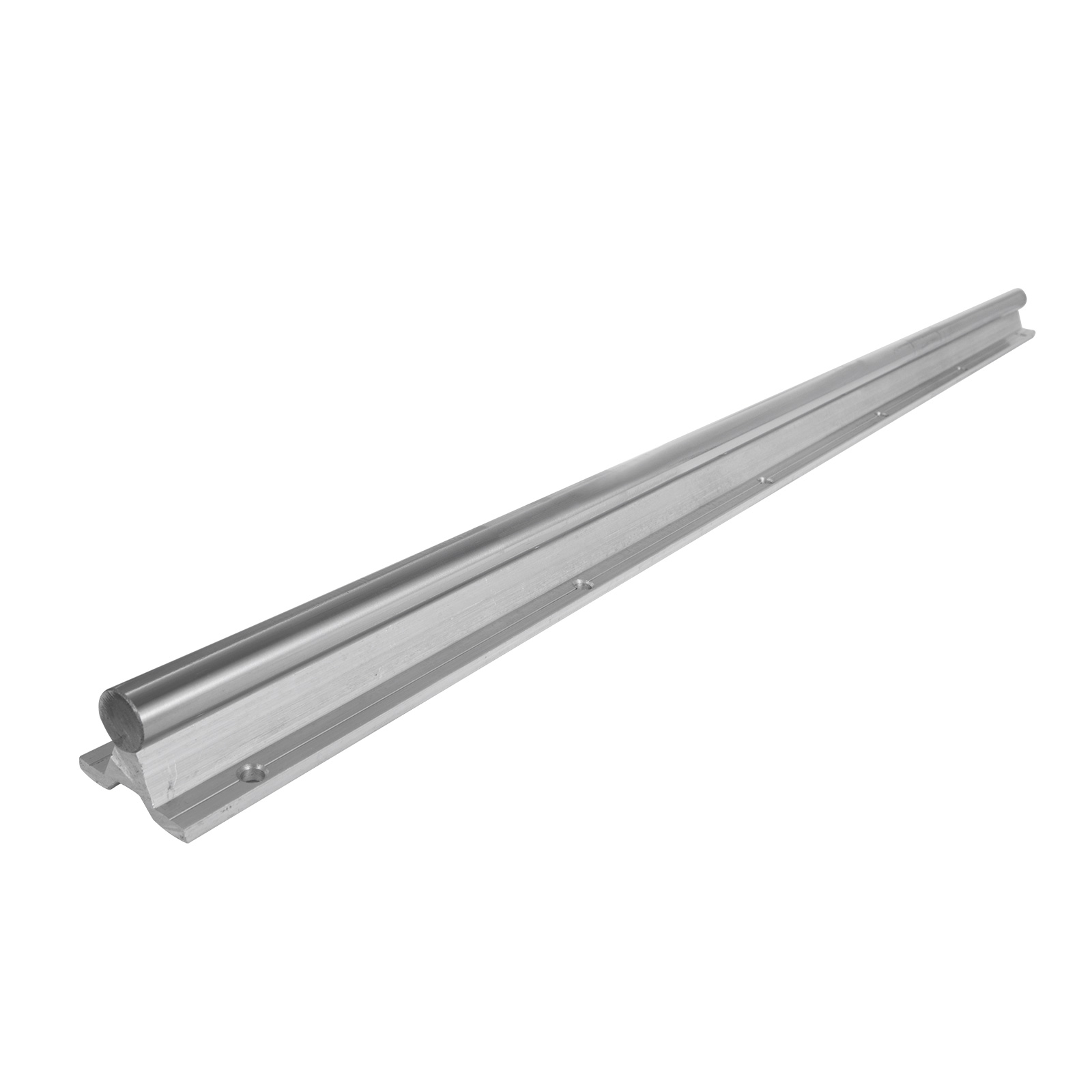 2X SBR25 530-1200mm Linear Rail Fully Supported Shaft Rod with 4X SBR25UU Block