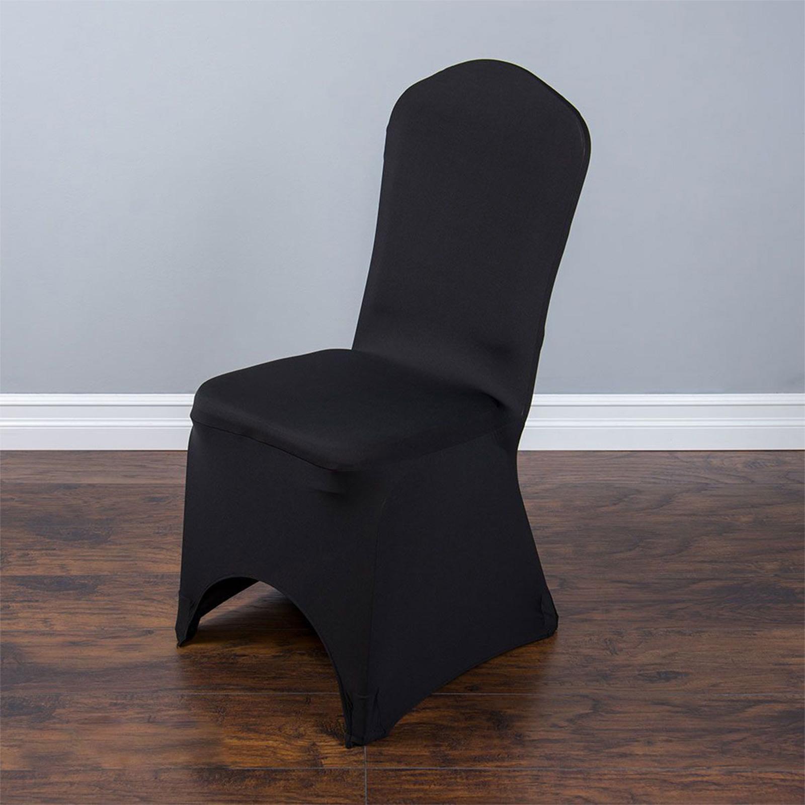 Universal 50 100 Pcs Polyester Spandex Wedding Chair
