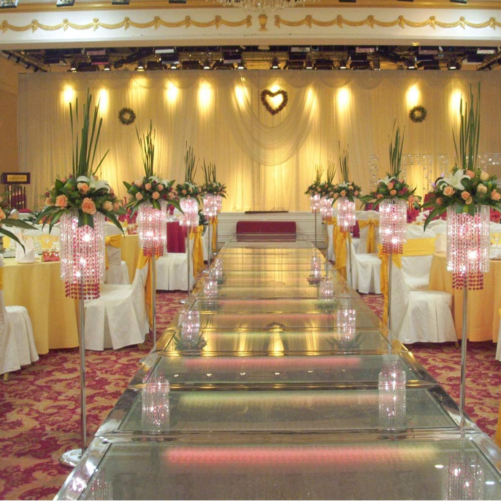100PCS-Ruban-Noeud-de-Chaise-Housse-Echarpe-Decoration-Fete-Mariage-Restaurant miniature 120