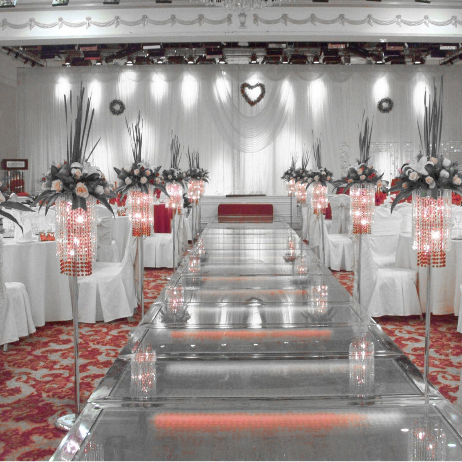 100PCS-Ruban-Noeud-de-Chaise-Housse-Echarpe-Decoration-Fete-Mariage-Restaurant miniature 84