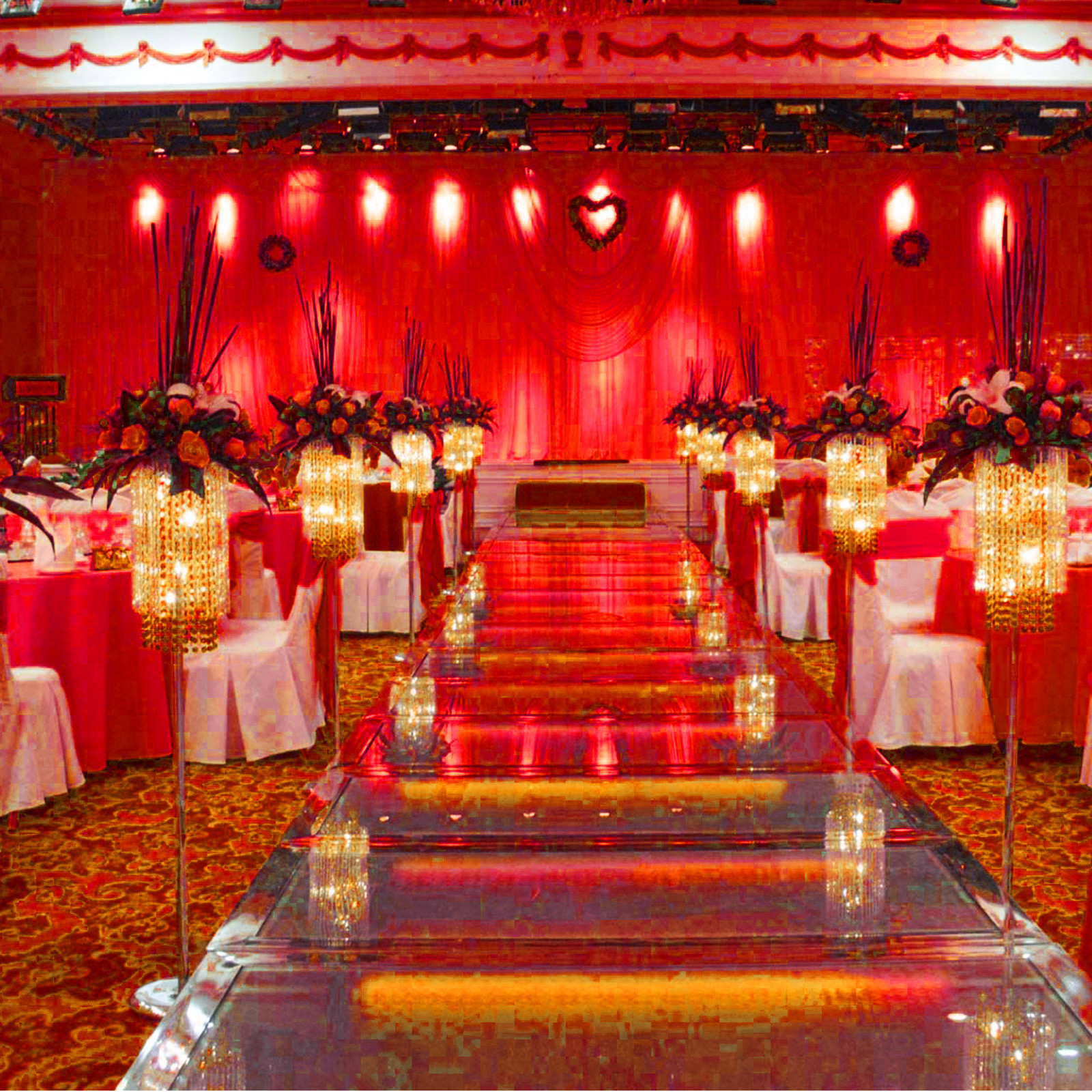 100PCS-Ruban-Noeud-de-Chaise-Housse-Echarpe-Decoration-Fete-Mariage-Restaurant miniature 108