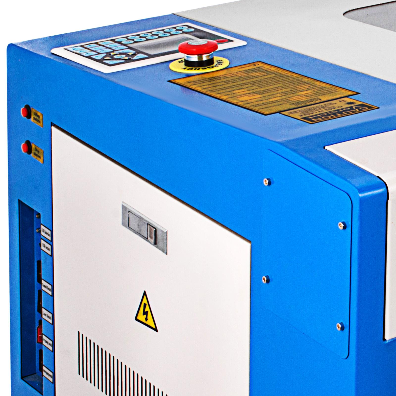 Macchina-per-Incisione-Laser-CO2-40-130W-Asse-Rotante-Tagliatrice-Incisore miniatura 36
