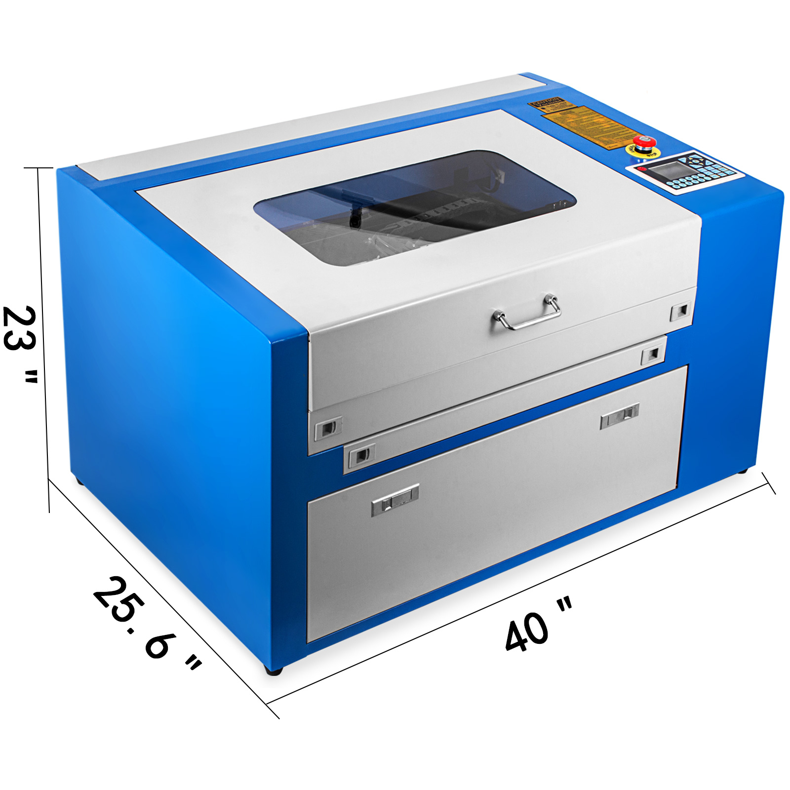 Macchina-per-Incisione-Laser-CO2-40-130W-Asse-Rotante-Tagliatrice-Incisore miniatura 26