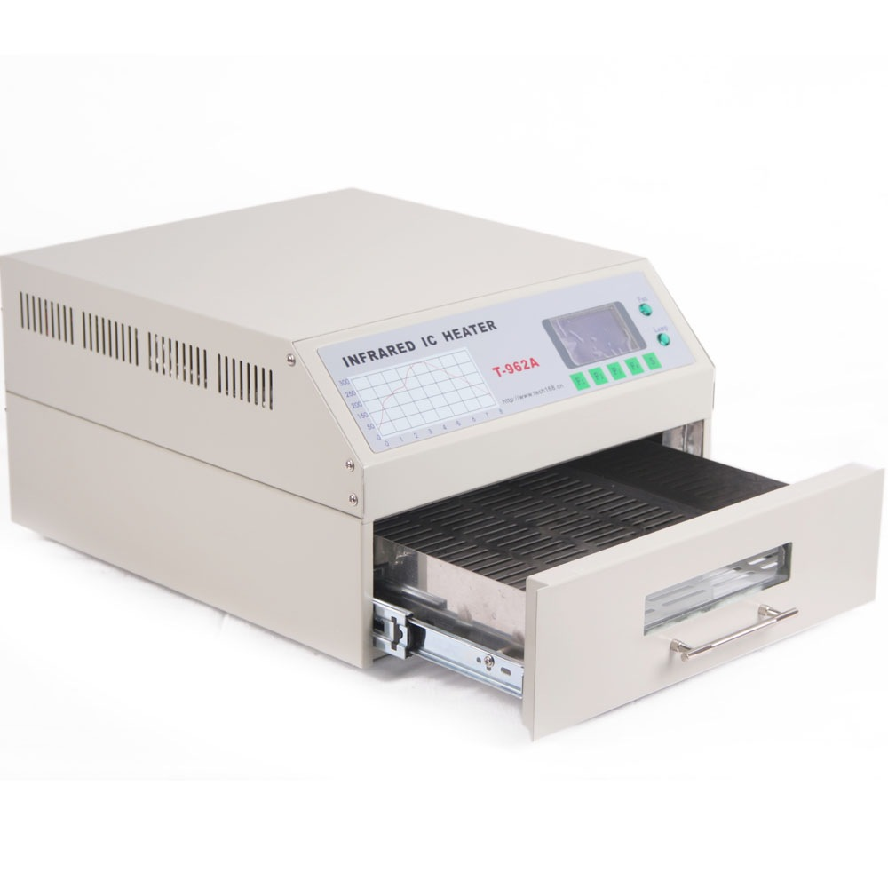 T962A Infrared Reflow Oven SMD BGA Digital 8 Soldering Cycles LCD Display UK - <span itemprop=availableAtOrFrom>PORTSMOUTH, United Kingdom</span> - For customers who purchase items which enjoy Money Back Policy, please kindly read the terms and conditions below before returning: 1.The item must be returned in original resaleable c - PORTSMOUTH, United Kingdom
