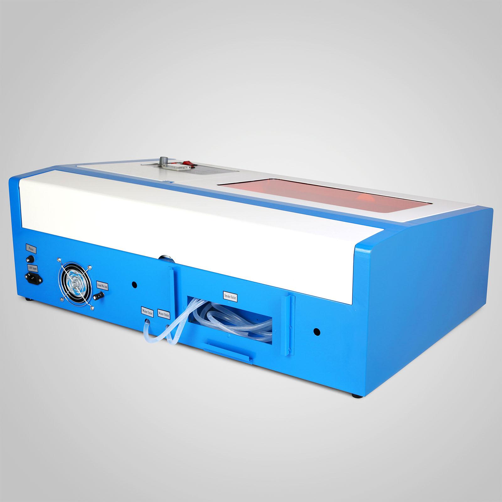 Macchina-per-Incisione-Laser-CO2-40-130W-Asse-Rotante-Tagliatrice-Incisore miniatura 18