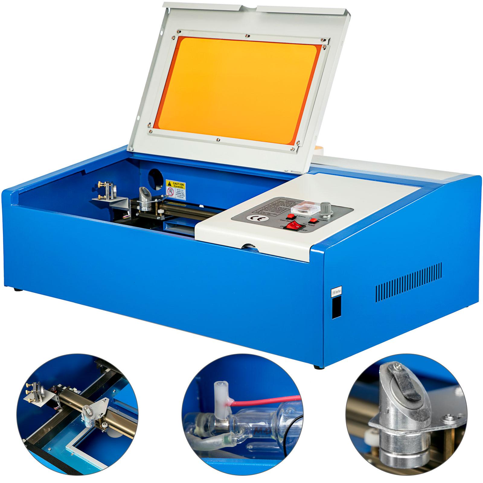 OrangeA L/áser Grabado Para M/áquina 50W M/áquina de Grabado L/áser USB Port de Grabado M/áquina Laser Engraving Machine 300x500mm 50W