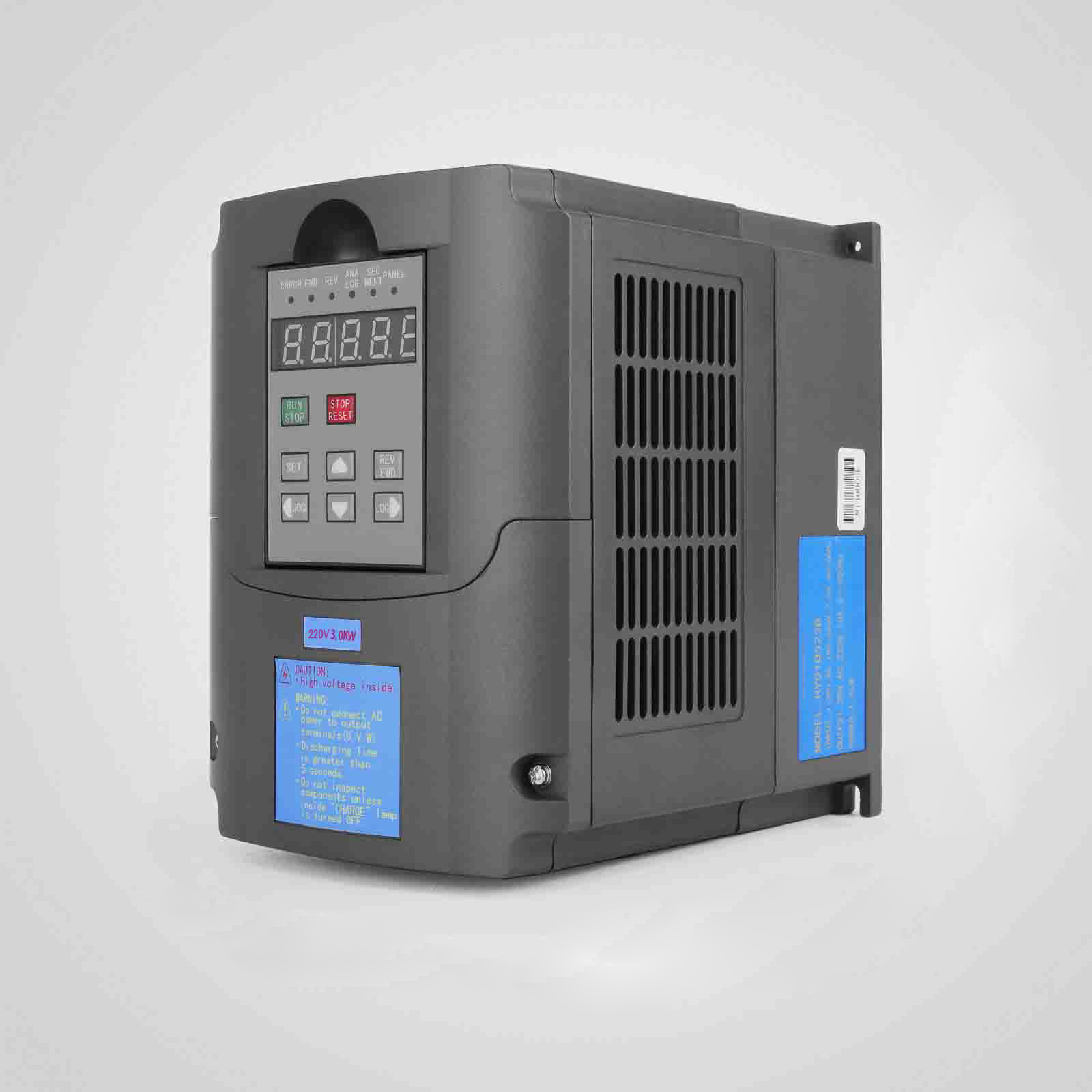 4HP 3KW Variable Frequency Drive VFD AVR CNC 220V 13A Capability Inverter hot